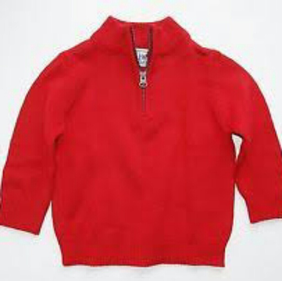 The Childrens Place Shirts Tops Toddler Boy Red Sweater Size 2t